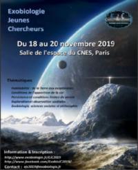 Exobiologie Jeunes Chercheurs 2019