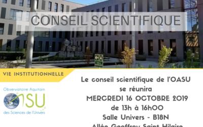 Conseil scientifique de l'OASU