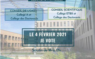 Elections partielles OASU