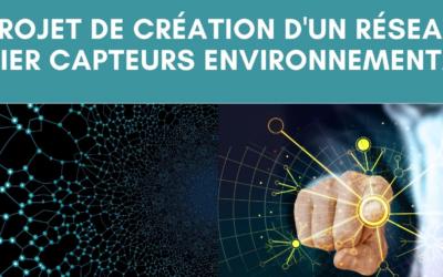 Un réseau métier «Capteurs environnementaux» en projet