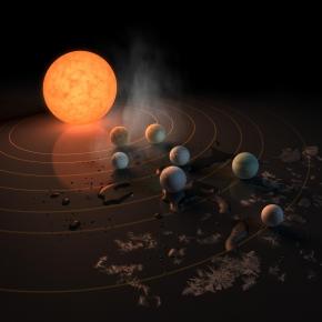 Du nouveau sur les planètes de TRAPPIST-1