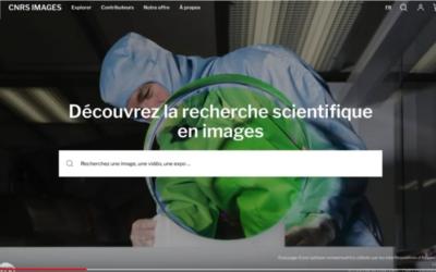 Nouvelle plateforme multimédia du CNRS
