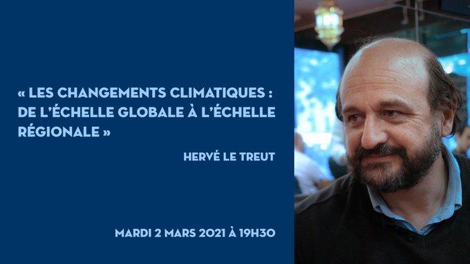 Conférence publique d'Hervé Le Treut