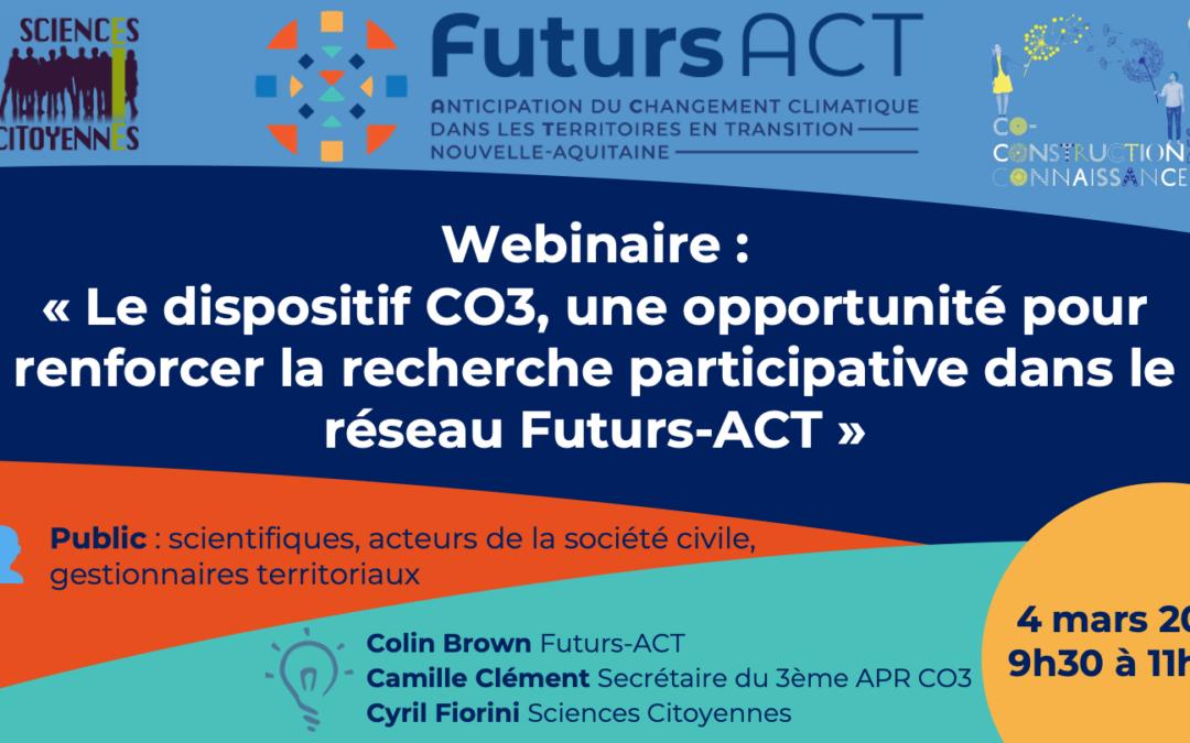 Futurs Act – Nouveau webinaire