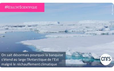 Pourquoi la banquise s'étend-elle en Antarctique de l'Est ?