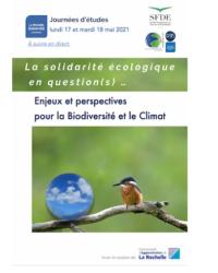 La solidarité écologique en question(s)